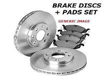 Brembo Vented Front Brake Disc Set For Nissan Leaf NV200//Evalia NV200 09.C544.