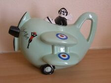 Carlton Ware Lucy May Spitfire aircraft tea pot with lid