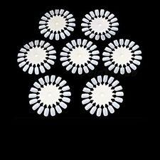 5 X Nail Art Ronda práctica Ruedas Salon Pantalla polaco Acrílico consejos vendedor Reino Unido