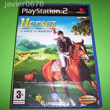 HORSEZ EL VALLE DEL RANCHO NUEVO PRECINTADO PAL ESPAÑA PLAYSTATION 2