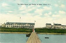 A View of The White House and Pavilion at Water Island L.I. NY