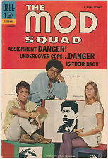 The Mod Squad #1 VG/FN 1969 Dell Comics Michael Cole Peggy Lipton photo cover