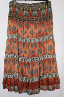 Gerry Weber Boho Skirt With Lining Size 16-18