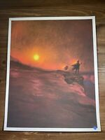 """The Companion"" Mandalorian Art Print Poster By Mark Chilcott Mondo BNG XX/100"
