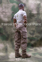 "1/6 Scale TAD Combat Pants Model Khaki Color Fit 12"" male Figure Body"