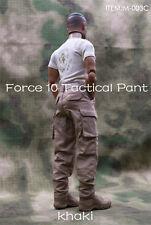 """1/6 Scale TAD Combat Pants Model Khaki Color Fit 12"""" male Figure Body"""