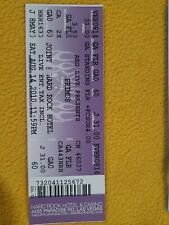 Primus Concert Ticket Joint Hard Rock Hotel Las Vegas August 14 2010 Seat 60
