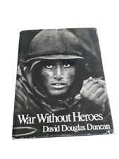 War Without Heroes by David Douglas Duncan 1st edition