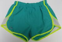 Under Armour Running Semi Fitted Heat Gear Shorts Womens XS Teal Green