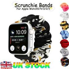 For Apple Watch iWatch Series 5/4/3/2/1 Soft Elastic Scrunchie Loop Band Strap
