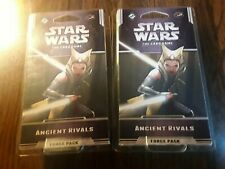 Star Wars the card game force pack, ANCIENT RIVALS, LOT OF 2