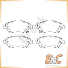 FRONT DISC BRAKE PAD SET FOR TOYOTA AURIS NRE15 ZZE15 ADE15 ZRE15 NDE15 BRECK