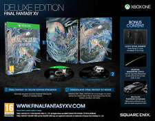 Final Fantasy XV (15): Deluxe Edition Steel Book (Xbox One) Neuf Scellé PAL