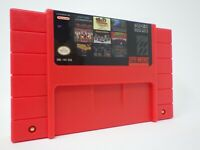 100 in 1 SNES Super Nintendo Multi Cart Game Contra Final Fight Zombies Mega Man