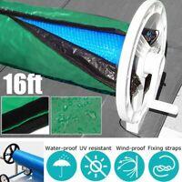 Swimming Pool Protection Solar Roller Reel Waterproof Anti-UV ' Wide 16x3.15ft