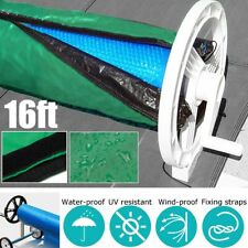Swimming Pool Protection Solar Roller Reel Waterproof Anti-UV ' Wide 16x3.15ft