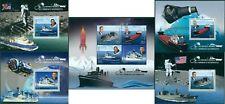 SPACE ASTRONAUTS GAGARIN ARMSTRONG SHEPPARD GLENN SHIPS MADAGASCAR MNH STAMP SET