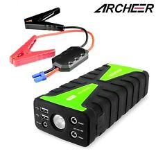 Archeer 16800mAh 12V 2-USB Car Jump Starter Battery Booster Charger Power Bank