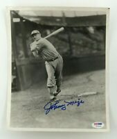 JOHNNY MIZE St. Louis Cardinals HOF 1981 Signed 8x10 Photo (PSA/DNA COA)
