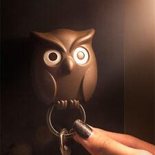 Cartoon owl wall hanging key hook key armrest decorative fram@