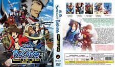 SENGOKU BASARA TV S1-S3+Movie+MV = Episodes 1-38 = English Subs = 4-DVD-Set