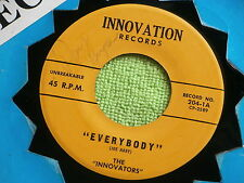 """INNOVATIONS~ EVERYBODY~THIS IS A ROCKER~""""21""""~~SIGNED BY RAY GUYCE~MEGA  ~ R&B 45"""