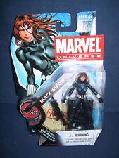 Marvel Universe Black Widow 3 3/4 Action Figure #11 Series 2 Hasbro NIB