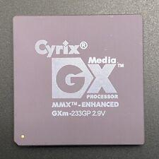 Cyrix GXm-233GP CPU MediaGX Processor PGA320 32Bit 233MHz 2.9V 70C