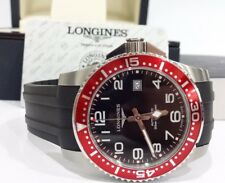 Longines Hydro conquest Automatic L3.695.4 Black Rubber Band Full Size