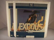 CED   EXODUS, PARTS 1 & 2, NEW FACTORY SEALED RCA 2 DISC SET