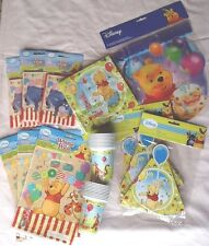Winnie The Pooh Pack for 18 Children Birthday Table Party Pack Disney