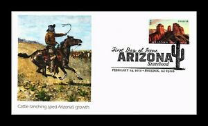 DR JIM STAMPS US CATTLE RANCHING ARIZONA GROWTH FIRST DAY ISSUE FLEETWOOD COVER