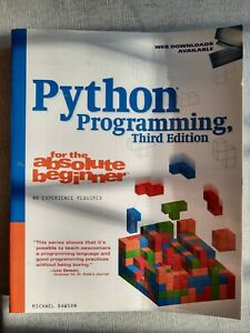 Python Programming For The Absolute Beginer