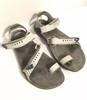 Teva Zilch Flexible Adjustable Hiking Sport Sandal Toe Strap Vegan Sz 5/36 $170