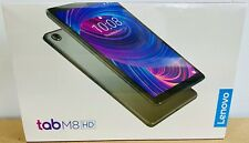 Lenovo Tab M8 HD 16GB, Wi-Fi, 8 in 16:10 Quad Core Android 9 Tablet, ZA5G0102US