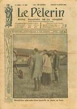 Portrait Prêtre Benediction Escadrille de Chasse des Cigognes  1919 ILLUSTRATION