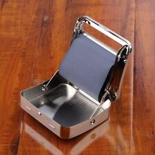 NEW Metal Automatic Cigarette Tobacco Roller Roll Rolling Machine Box Case Tin E