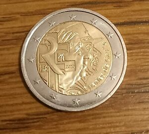 piece de 2 euro Rare Charles de gaulle
