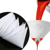 Filtro de colador de pintura malla papel desechable purificador copa nylon