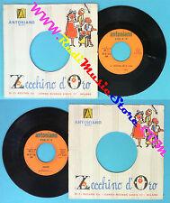 LP 45 7''ZECCHINO D'ORO La canzone della luna Popoff 1967 ANTONIANO no cd mc*vhs