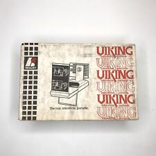 Vintage Realist Viking Microfiche Portable New RARE old stock Collectors Item