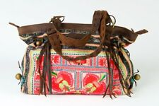 Breakfast at Tiffanys - Large Boho Shoulder Bag - Bohemian Handbag Vintage Re...