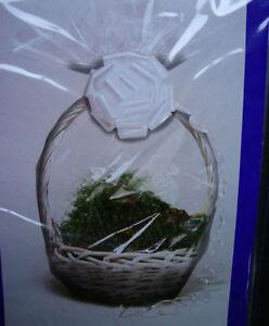 6 x Hamper Wraps cellophane Basket Gift Wrap Large Cello basket BAGS