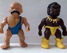 Playskool Definately Dinosaurs Thrax and Romur 1987 Playschool C9