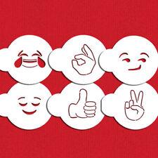 Designer Stencils C1017 Emojis 2 Cookie Stencil Set
