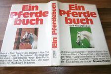 Carl-Heinz Dömken -- PFERDEBUCH // Halla-Meteor-Nizar 1. Aufl. 1973
