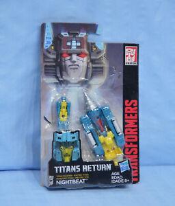 Titans Return NIGHTBEAT Titan Master Headmaster MOSC Head Master Night Beat