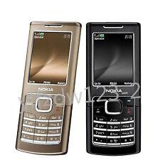 Original Unlocked Nokia 6500C 6500 Black Brown GSM Bluetooth Mobile Bar Phone