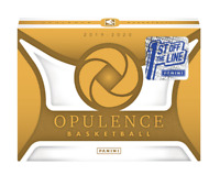 1ST OFF THE LINE 2019-20 PANINI OPULENCE NBA SEALED HOBBY BOX