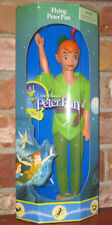 1997 Disney Flying Peter Pan classic doll Mattel Neverland figure